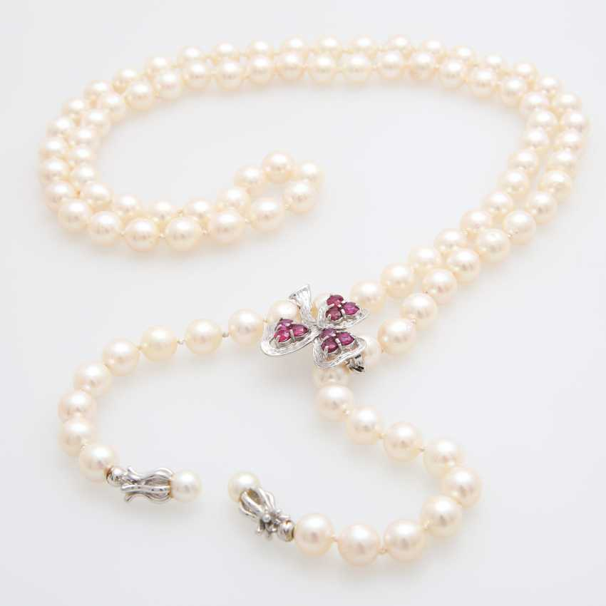 Necklace made of cultured pearls - photo 1