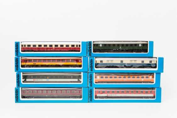 MÄRKLIN mixed lot of 16 cars, gauge H0, - photo 3