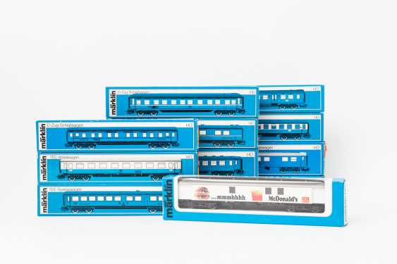 MÄRKLIN mixed lot of 12 cars, gauge H0, - photo 1