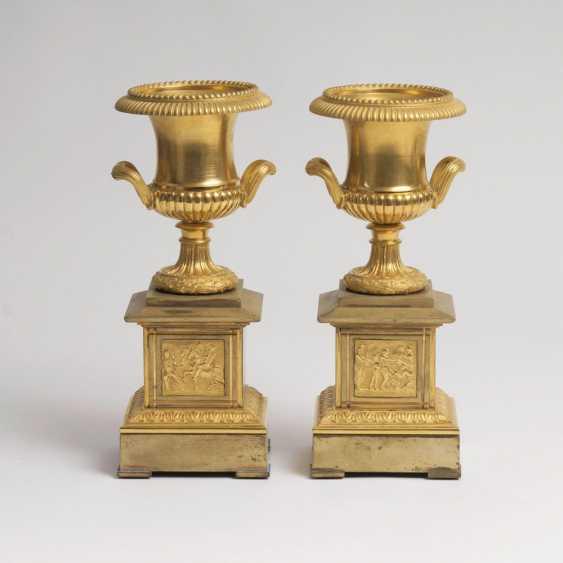 Пара Napoléon III-камин украшения - фото 1
