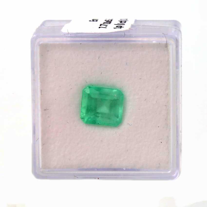 Natural Emerald (Emerald), 1,90 Carats, - photo 1