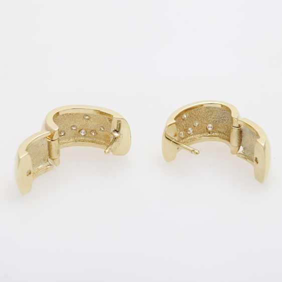 """Hoop Earrings (Pair) """"Star/ Moon"""", - photo 4"""