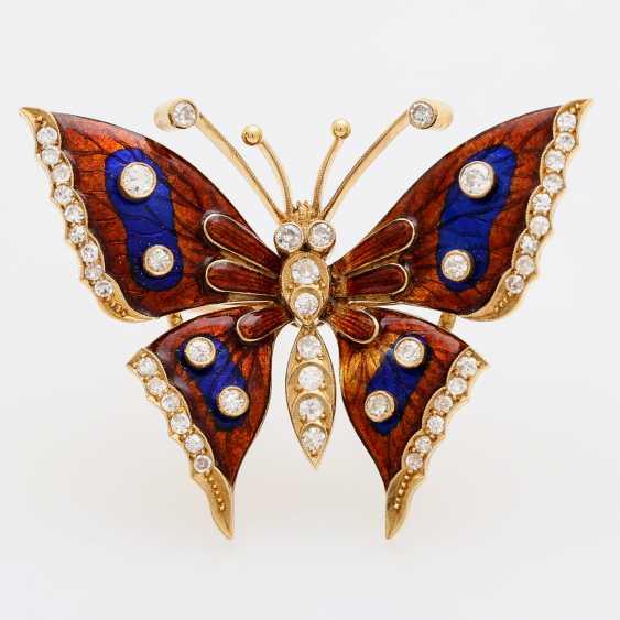 Butterfly brooch - photo 1