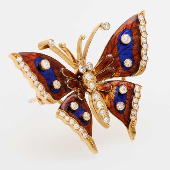Butterfly brooch - photo 2
