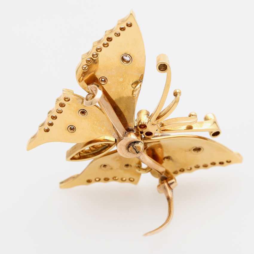 Butterfly brooch - photo 3