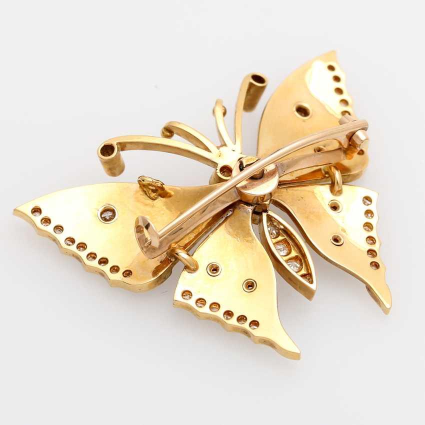 Butterfly brooch - photo 4
