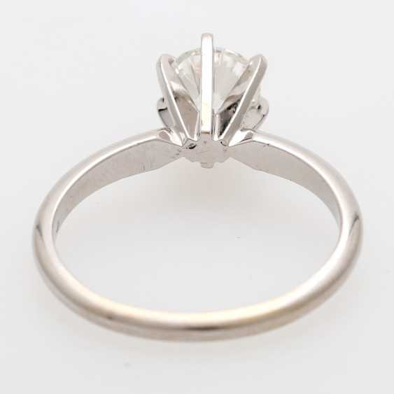 Solitaire ring m. 1 brilliant tenant of approximately 0.8 ct - photo 4
