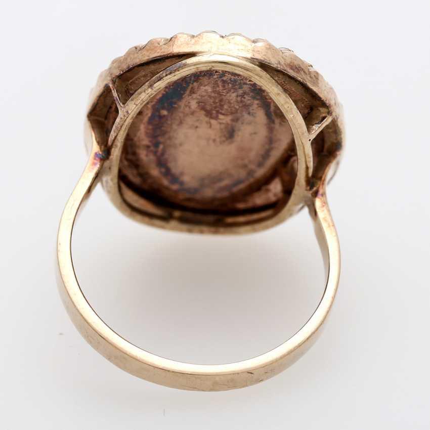 Ring around 1890 with carnelian Intaglio - photo 4