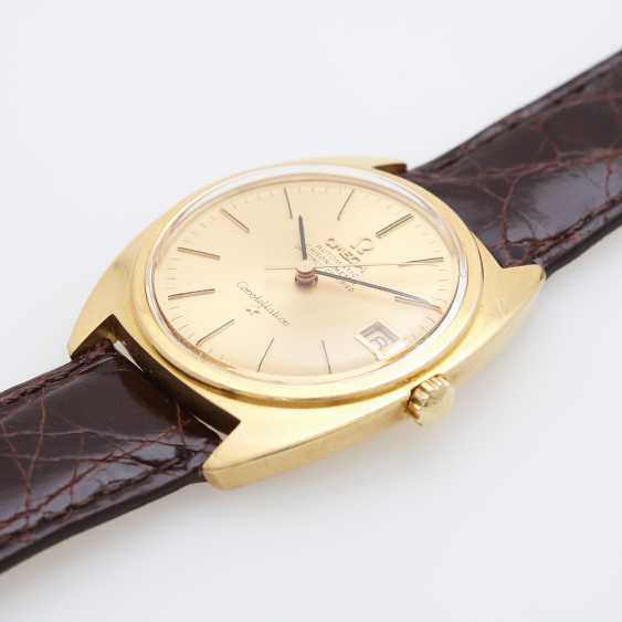 "OMEGA men's wrist watch ""Constellation"", CA. 1960's/70's, case in yellow gold 18K. - photo 5"