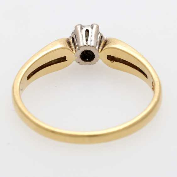 Solitaire ring m. 1 brilliant tenant of approximately 0.3 ct - photo 4