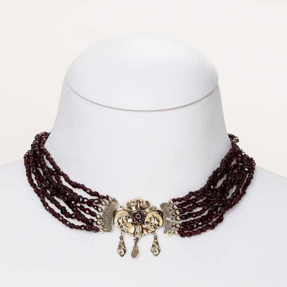BIEDERMEIER garnet necklace - photo 1