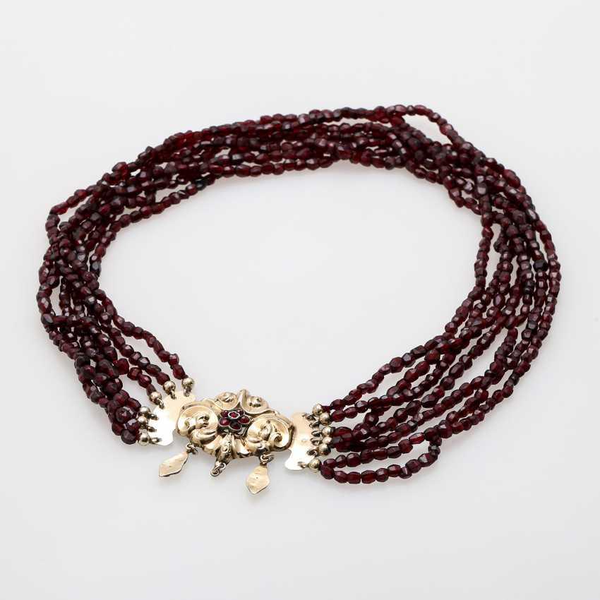 BIEDERMEIER garnet necklace - photo 2