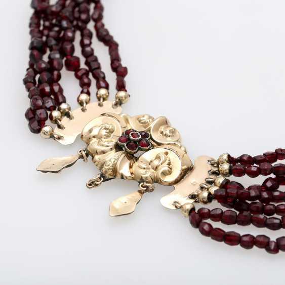 BIEDERMEIER garnet necklace - photo 3