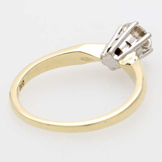 Solitaire ring m. 1 brilliant tenant. 0,56 ct - photo 3
