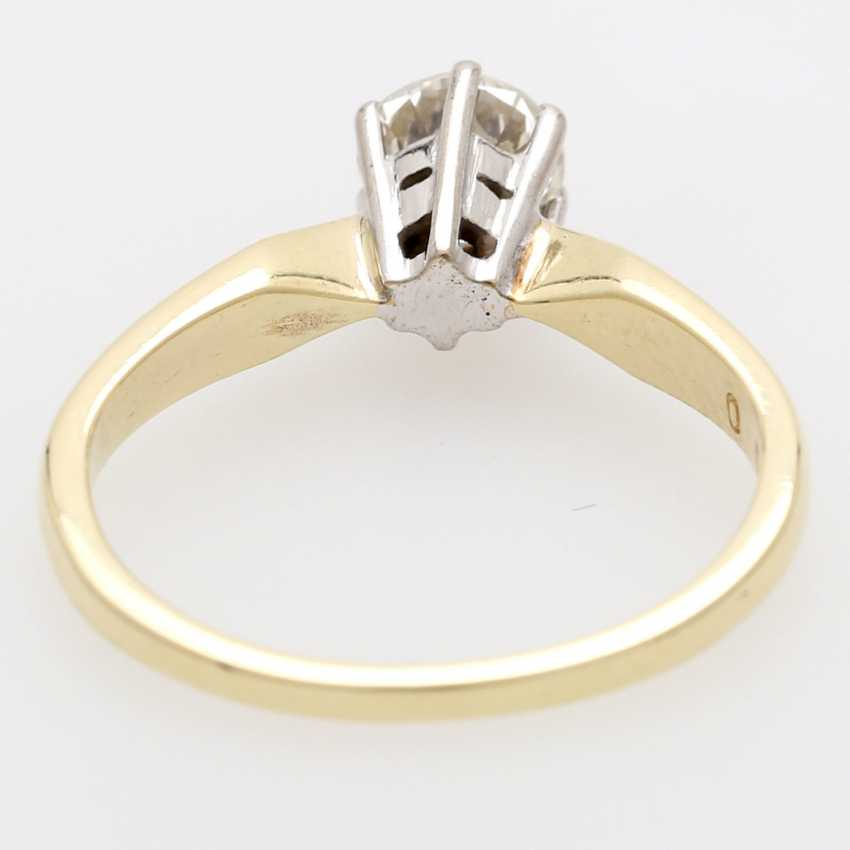 Solitaire ring m. 1 brilliant tenant. 0,56 ct - photo 4