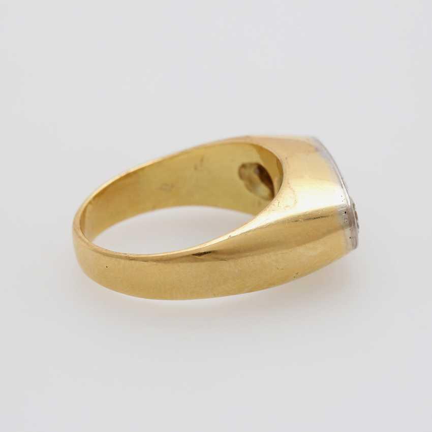 Ring with 3 diamonds - photo 3