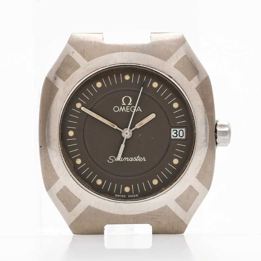 OMEGA Seamaster Titane Quartz wrist watch, Ref. TT 3960981, CA. 1980s. - photo 2