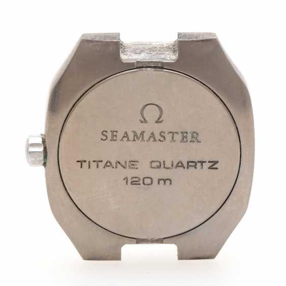 OMEGA Seamaster Titane Quartz wrist watch, Ref. TT 3960981, CA. 1980s. - photo 3