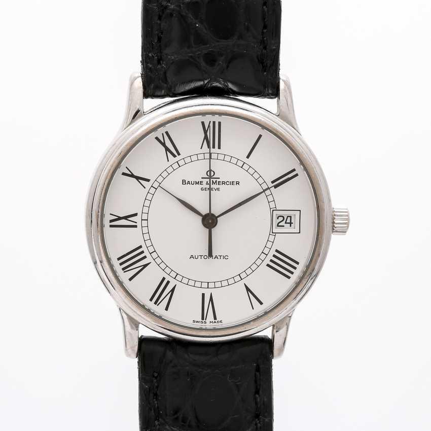 BAUME & MERCIER Classic dress watch, CA. 1980/90s. White gold 18K. - photo 1