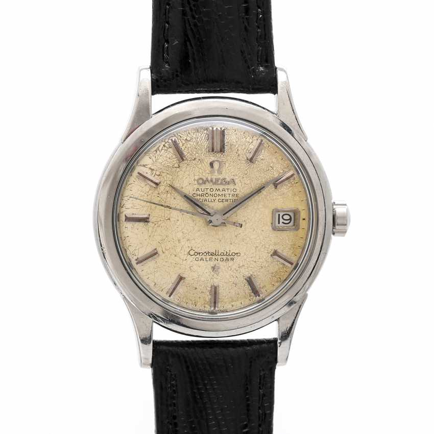 OMEGA Constellation Calendar Spider Dial, Ref. 2943-1 SC, CA. 1950/60s. Stainless steel. - photo 1