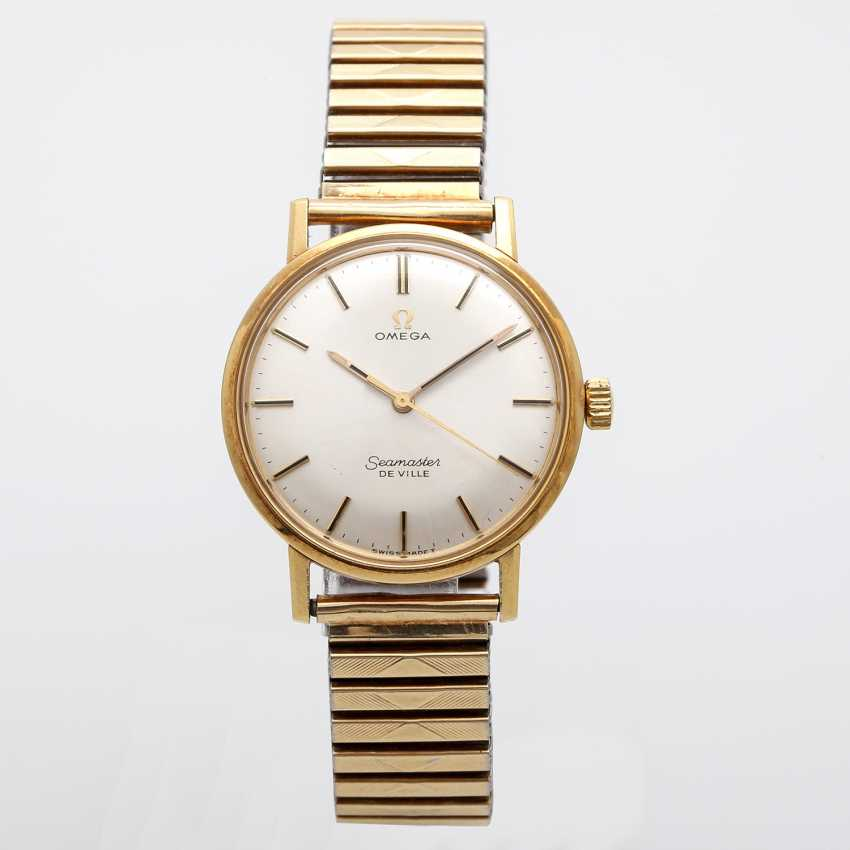 OMEGA Seamaster De Ville men's watch, CA. mid-1960s. Yellow gold 18K. - photo 1