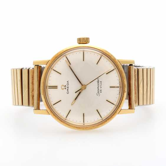 OMEGA Seamaster De Ville men's watch, CA. mid-1960s. Yellow gold 18K. - photo 2