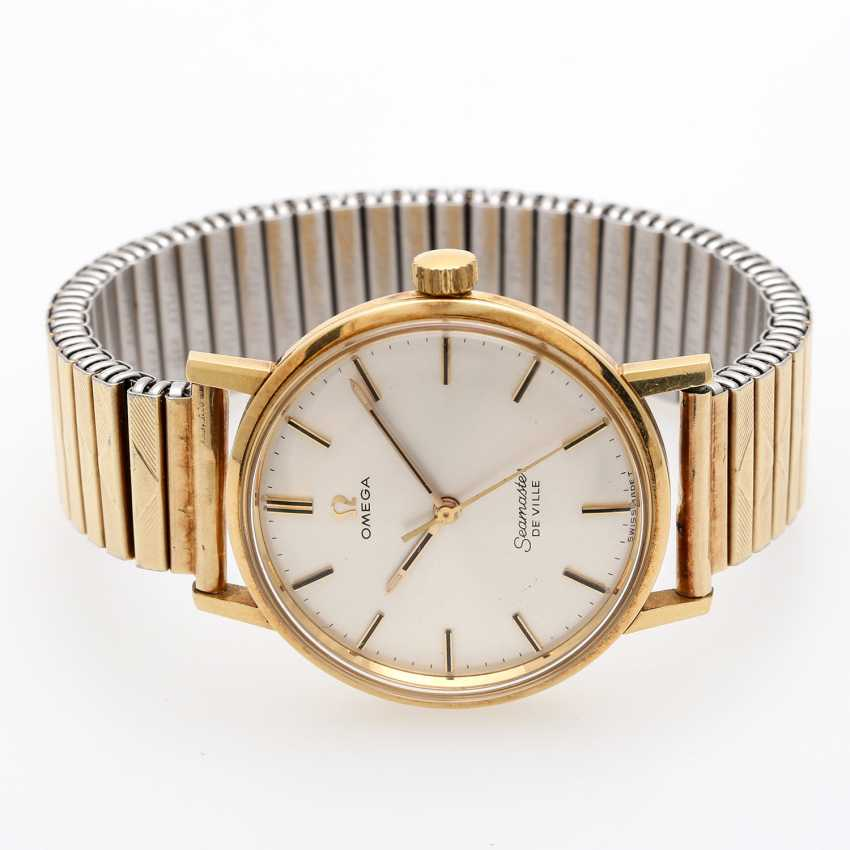 OMEGA Seamaster De Ville men's watch, CA. mid-1960s. Yellow gold 18K. - photo 3