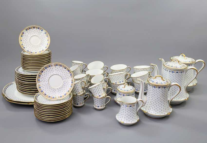 LIMOGES GDA coffee service for 12 persons 'Anjou', 20. Century - photo 1
