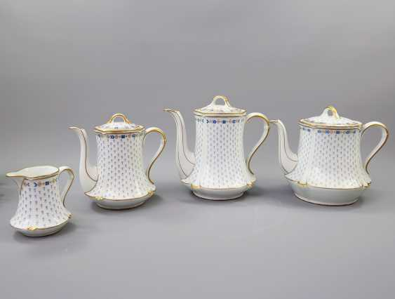 LIMOGES GDA coffee service for 12 persons 'Anjou', 20. Century - photo 2