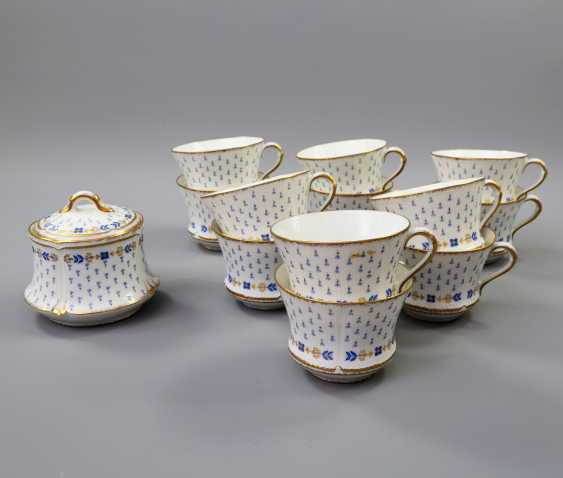LIMOGES GDA coffee service for 12 persons 'Anjou', 20. Century - photo 3