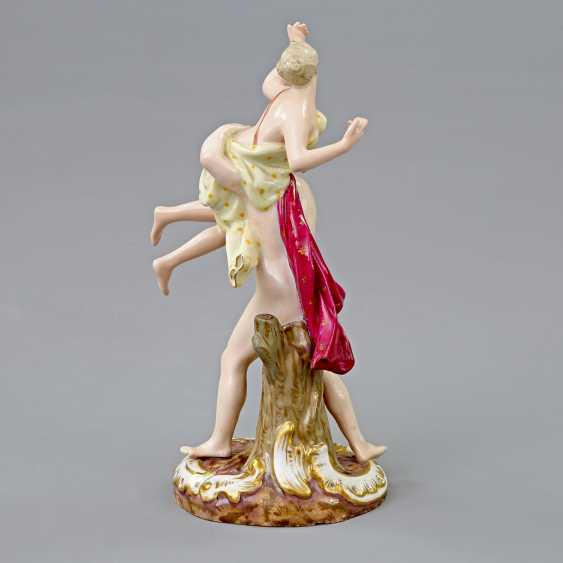 MEISSEN figure group of 'the rape of the Sabinerin', 19./20. Century - photo 3