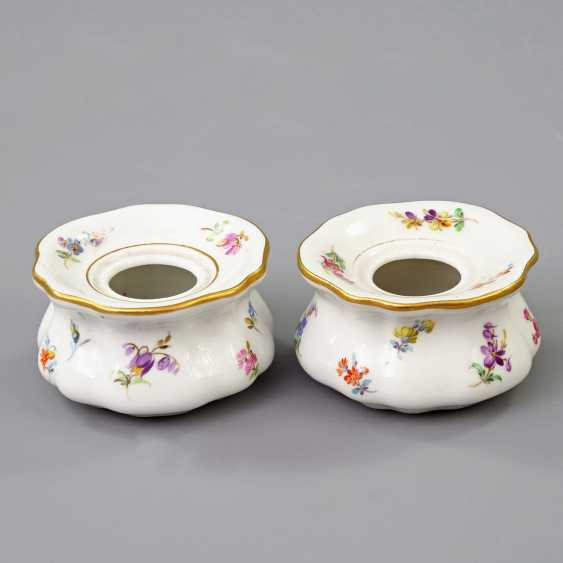 MEISSEN Pair of Inkwells, 19th century./20. Century - photo 1