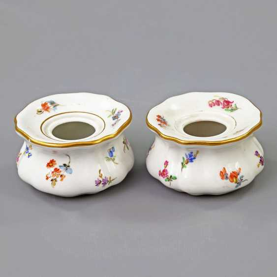MEISSEN Pair of Inkwells, 19th century./20. Century - photo 2
