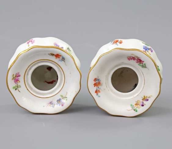 MEISSEN Pair of Inkwells, 19th century./20. Century - photo 3