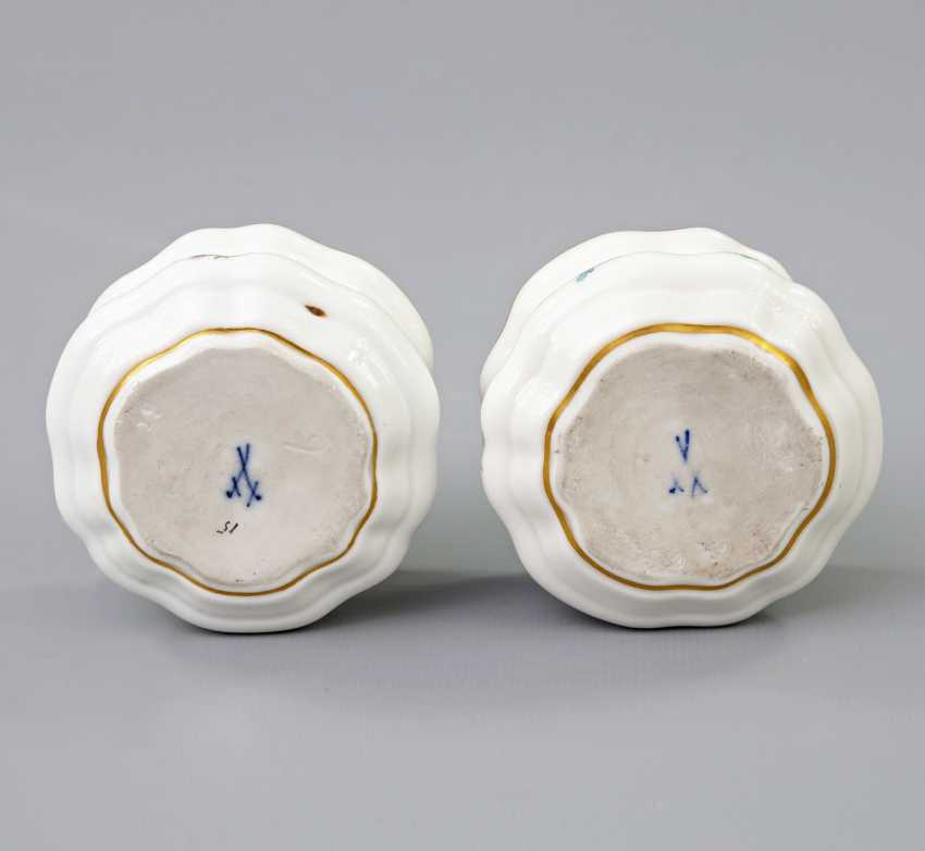 MEISSEN Pair of Inkwells, 19th century./20. Century - photo 4