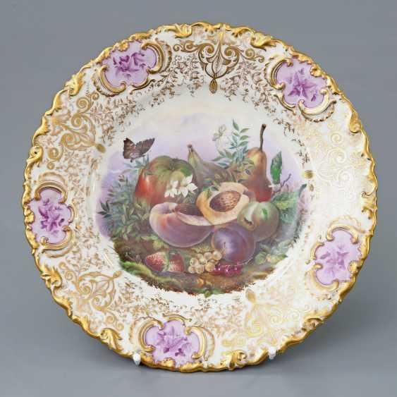 Disused tailings piles rare ceremonial plate, prior to 1837. - photo 1