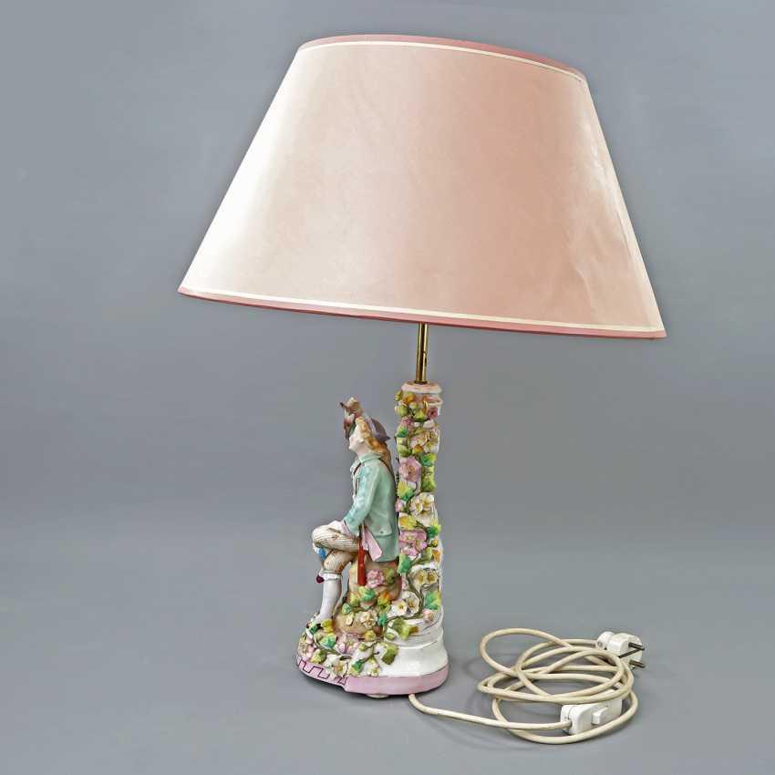 Figural Table Lamp-19./20. Century - photo 3