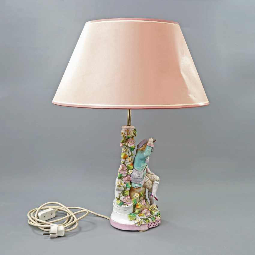 Figural Table Lamp-19./20. Century - photo 5