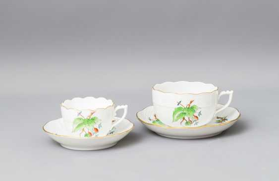 HEREND tea - and mocha service for 5-6 persons, 20. Century - photo 3