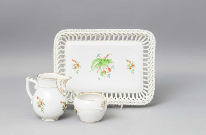 HEREND tea - and mocha service for 5-6 persons, 20. Century - photo 6
