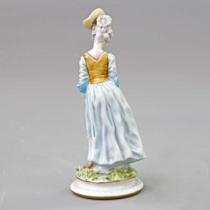 GINORI/ITALY figure of a lady, 19. Century - photo 3