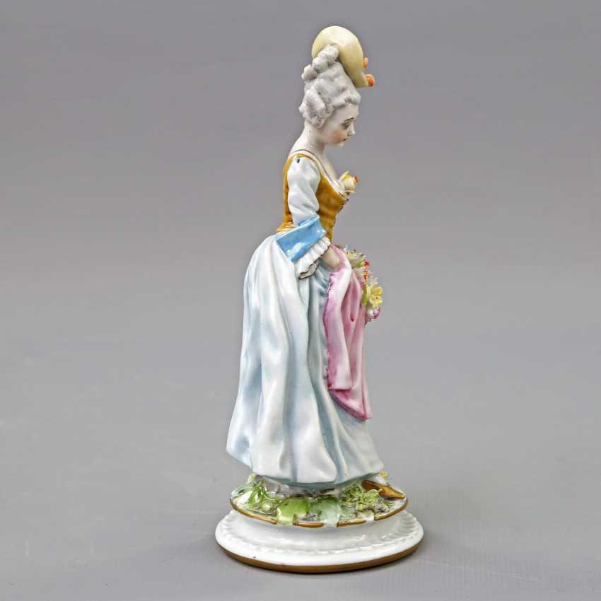 GINORI/ITALY figure of a lady, 19. Century - photo 4