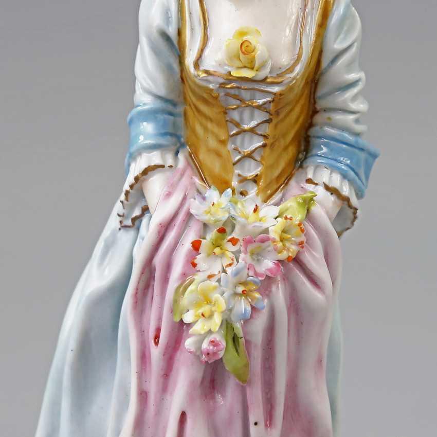 GINORI/ITALY figure of a lady, 19. Century - photo 5