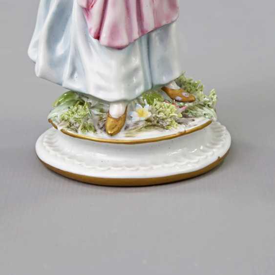 GINORI/ITALY figure of a lady, 19. Century - photo 6