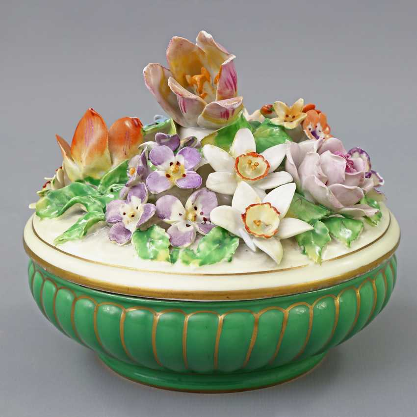 POTSCHAPPEL lidded box, 20. Century - photo 1