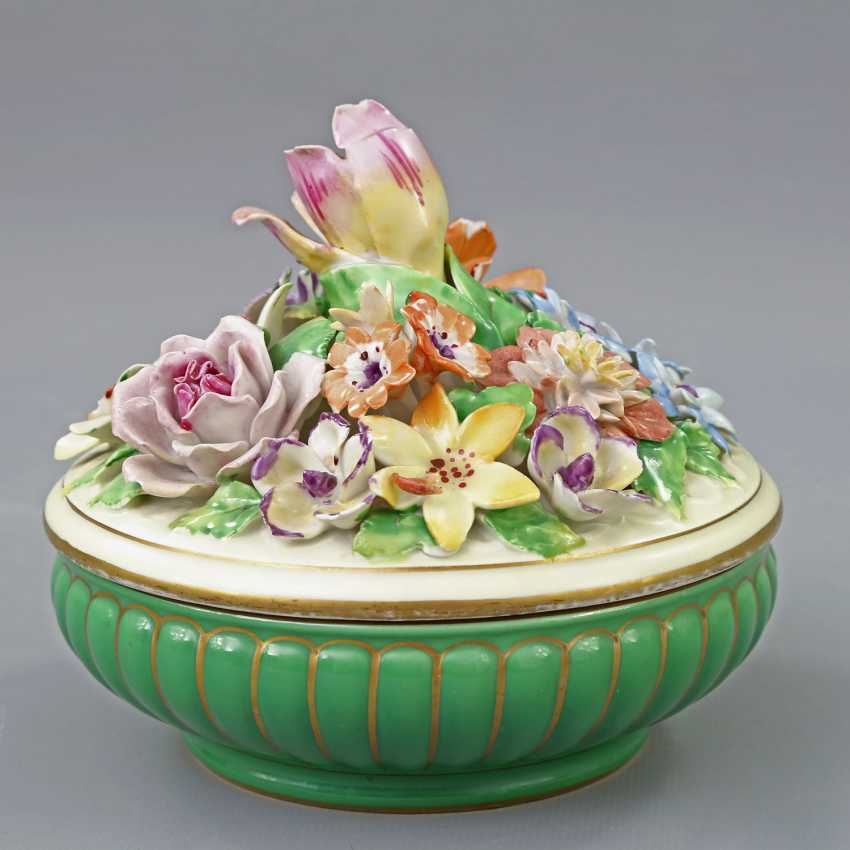 POTSCHAPPEL lidded box, 20. Century - photo 3