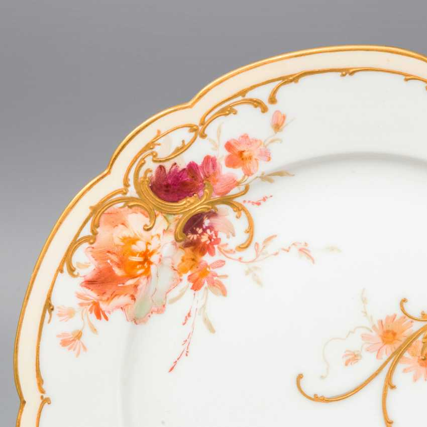 KPM vintage Cup and 3 plates, 20. Century - photo 2