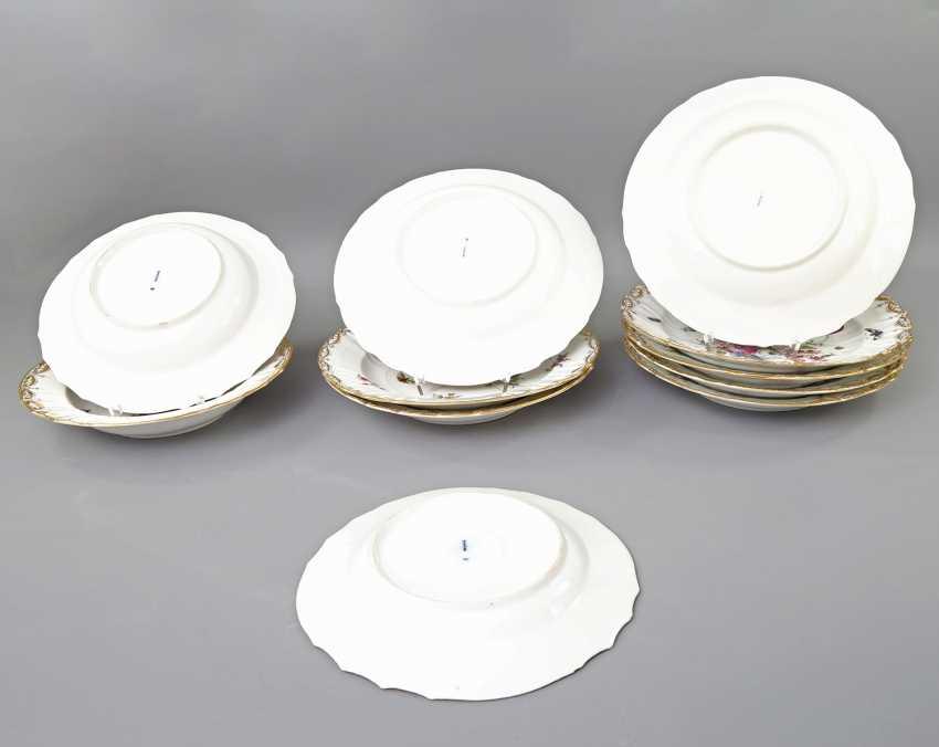 KPM 11 plates, 2. Choice, 20. Century - photo 3