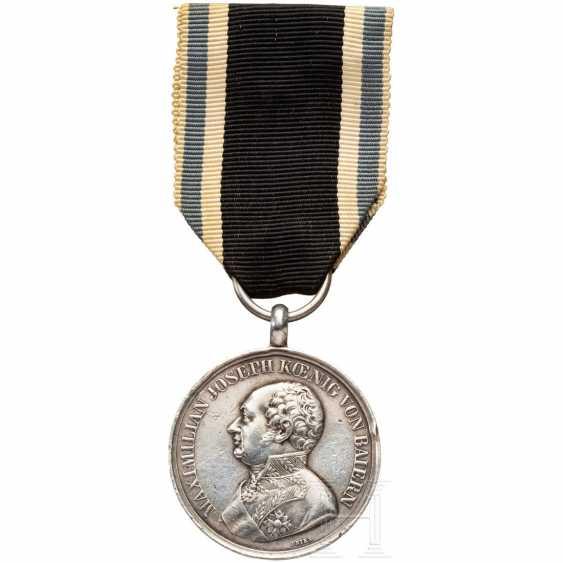 "Bavarian Silver military merit medal - ""medal of valor"" - from the world war 1914/18 - photo 1"