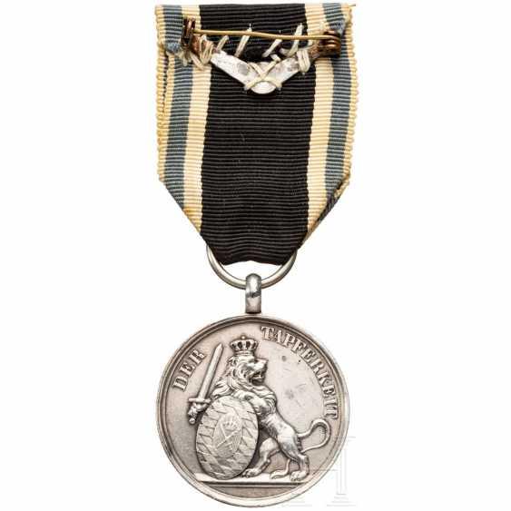 "Bavarian Silver military merit medal - ""medal of valor"" - from the world war 1914/18 - photo 2"